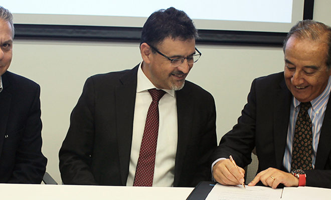 Firma convenio de colaboración