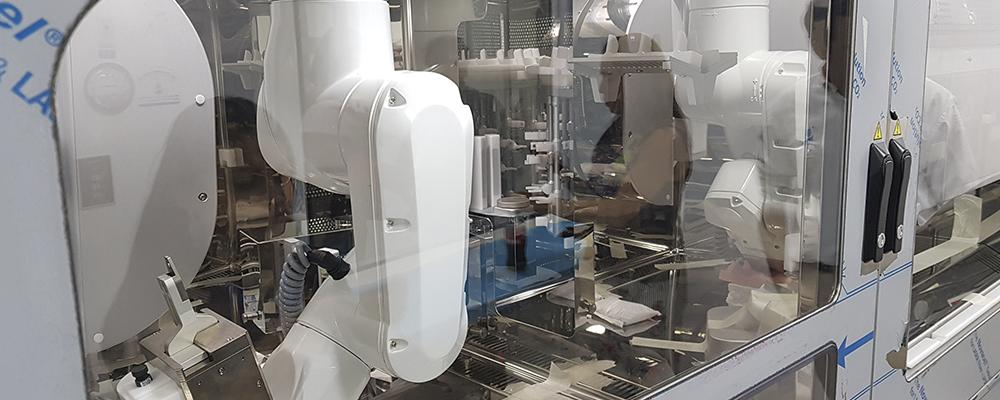 Robot pionero llega a FALP